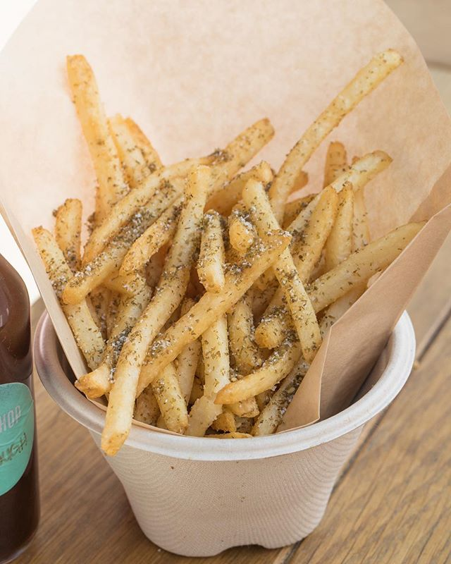 Yes you want some za'atar fries with that. 🍟