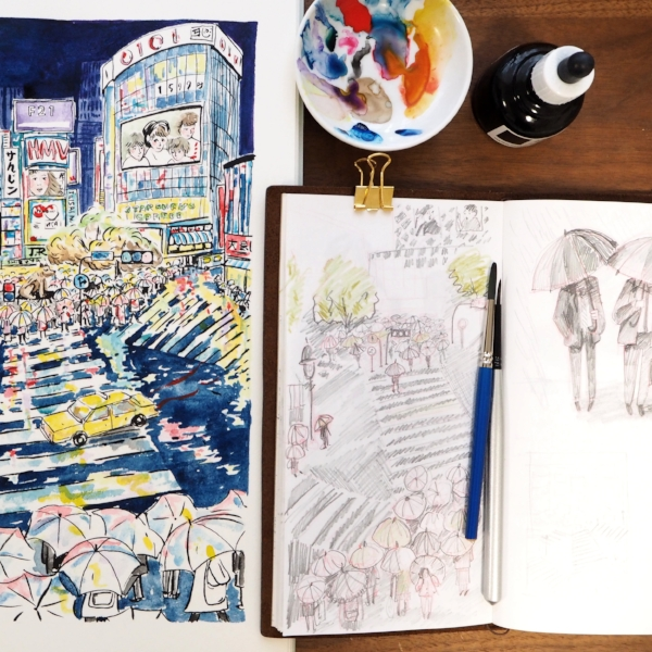 shibuya travellers notebook sketchbook.jpg