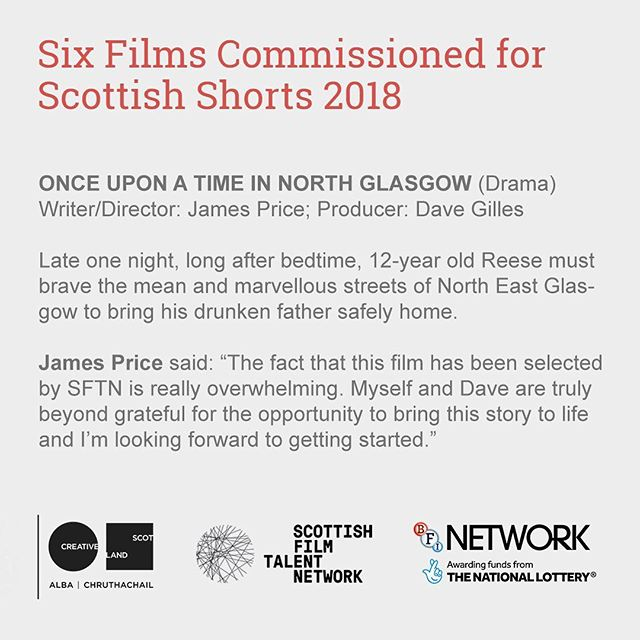 Excited to announce I'll be shooting another SFTN funded short this year. Massive congrats to James & Dave, and all the other teams 👊🏻 . . . . . #scottishfilm #scottishshorts #sftn #creativescotland #bfinetwork #britishfilminstitute #shortfilm #funding #filmfunding #commission #filmmaking #cinematographer #dop #directorofphotography