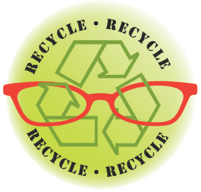 Recycle your old frames at 10/10 Optics! Every month we send a package that is repurposed to  New Eyes for the Needy .