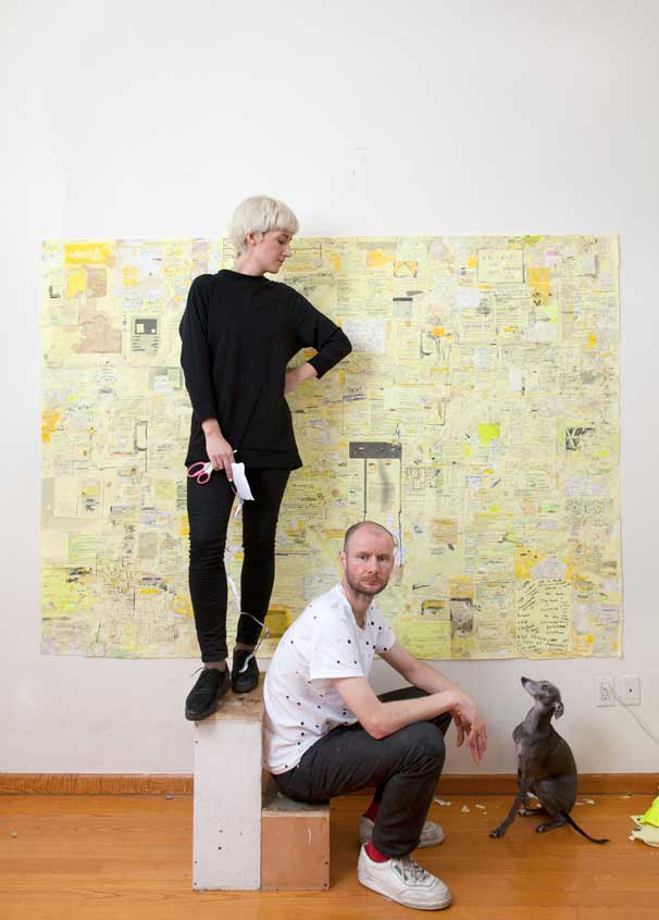 Sarah Lannan and Scott Evans