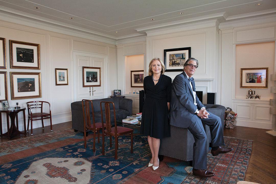Catherine Woodward, Nelson Blitz