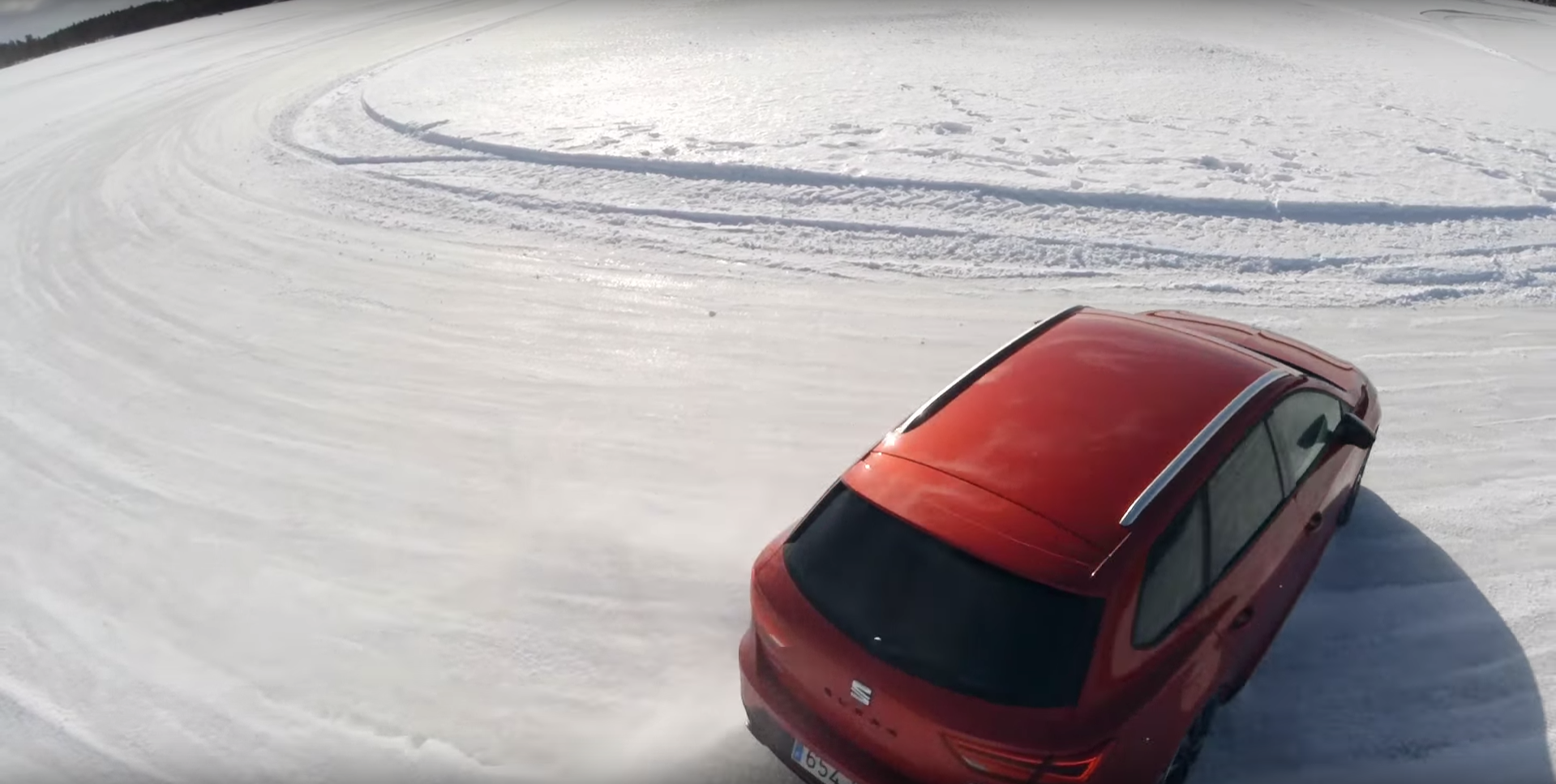 SEAT Ice Driving - A stunning content collaboration with SEAT for Men's Health.