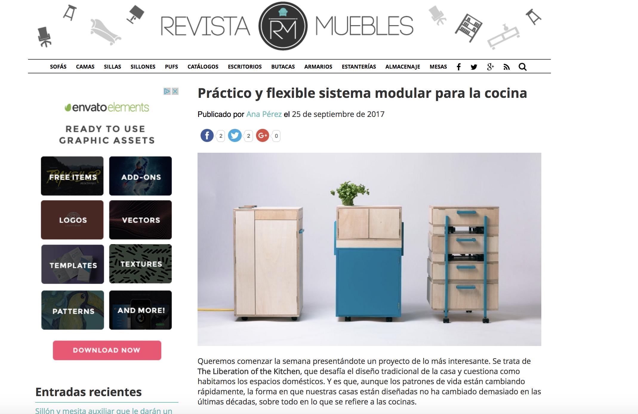 Revista Muebles -  Barcelona, 2017