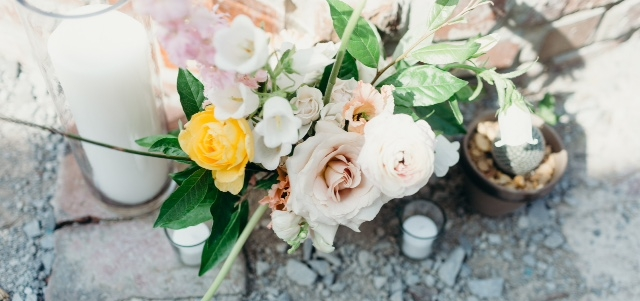 Photo Cred:  Darling Juliet Photography   Flowers: Southerly Flower Farms