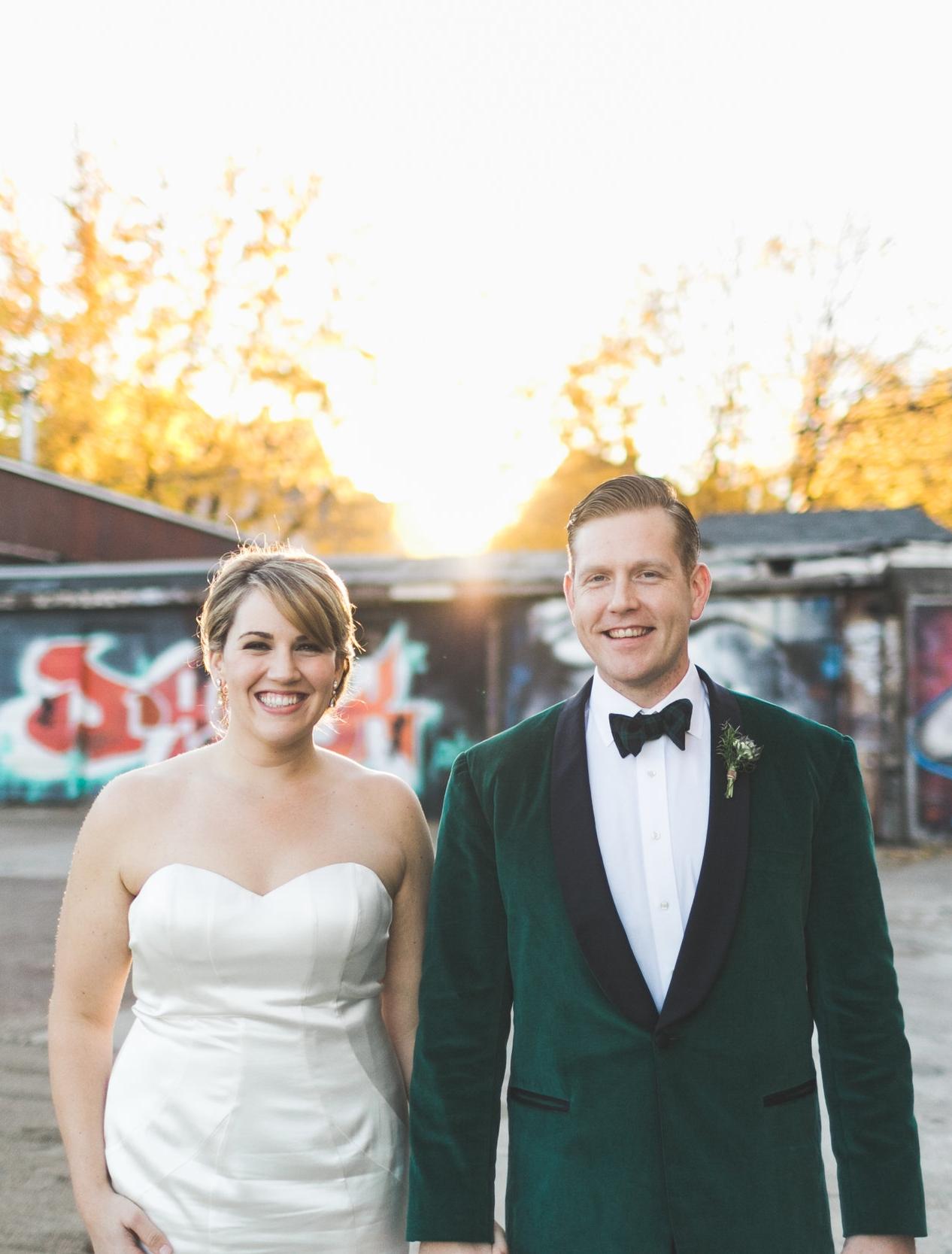 Becca and Bert Uppercut Gym Wedding Jonny and Liz