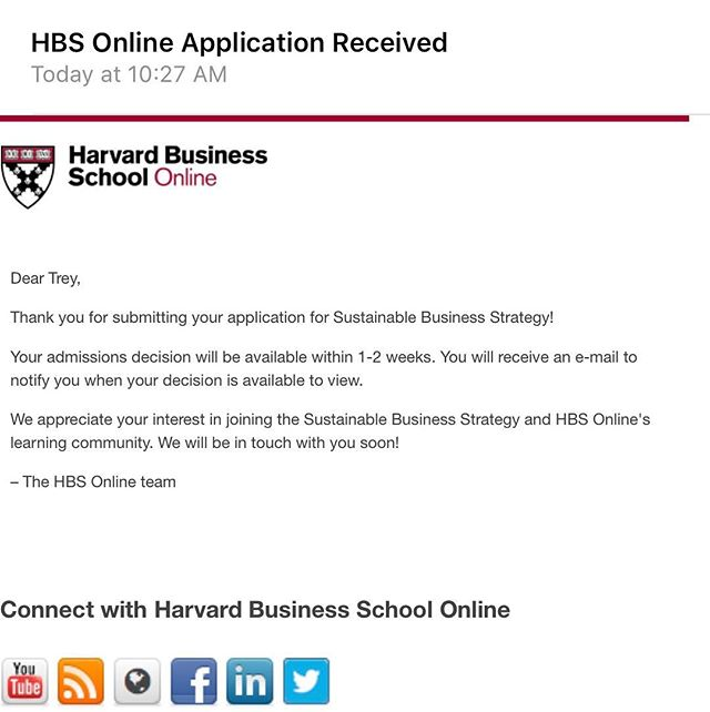 Might be adding @harvard online student of @harvardhbs to the resume. 😎👍🏾 We shall see! Fingers🤞🏾 #Harvard #BusinessSchool #HigherLearning #Education #courses #businessman #actor #actorslife #hollywood #losangeles