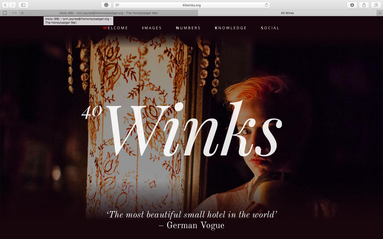Increase direct bookings - storytelling example 40 Winks