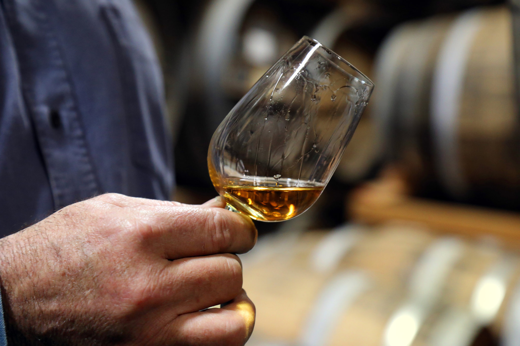 Daniel Farber, owner of Osocalis Distillery in Soquel, Calif., with a glass of brandy. He is one of many distillers betting that brandy will be the next big brown liquor. CreditJim Wilson/The New York Times