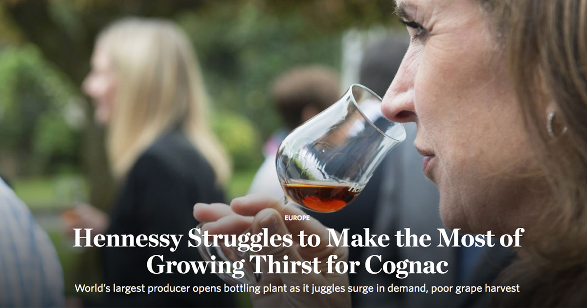 Hennessy opens its brand new bottling and packaging facility Pont Neuf in Cognac, France. JULIEN FERNANDEZ