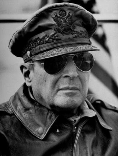 The legendary General Douglas MacArthur