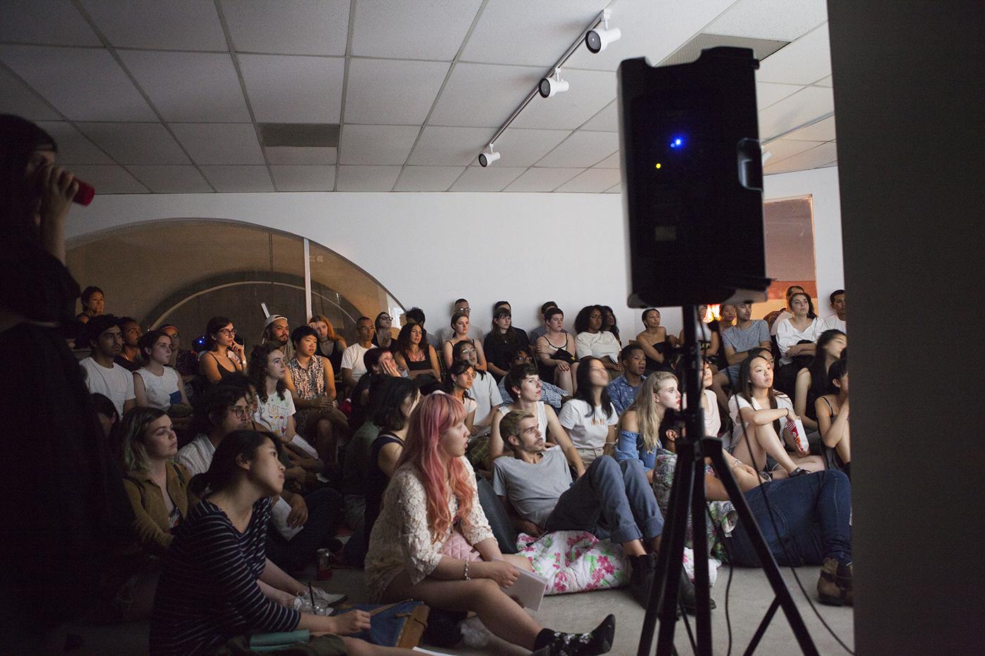 first screening at los angeles contemporary archive (laca). image credit: sarah waldorf