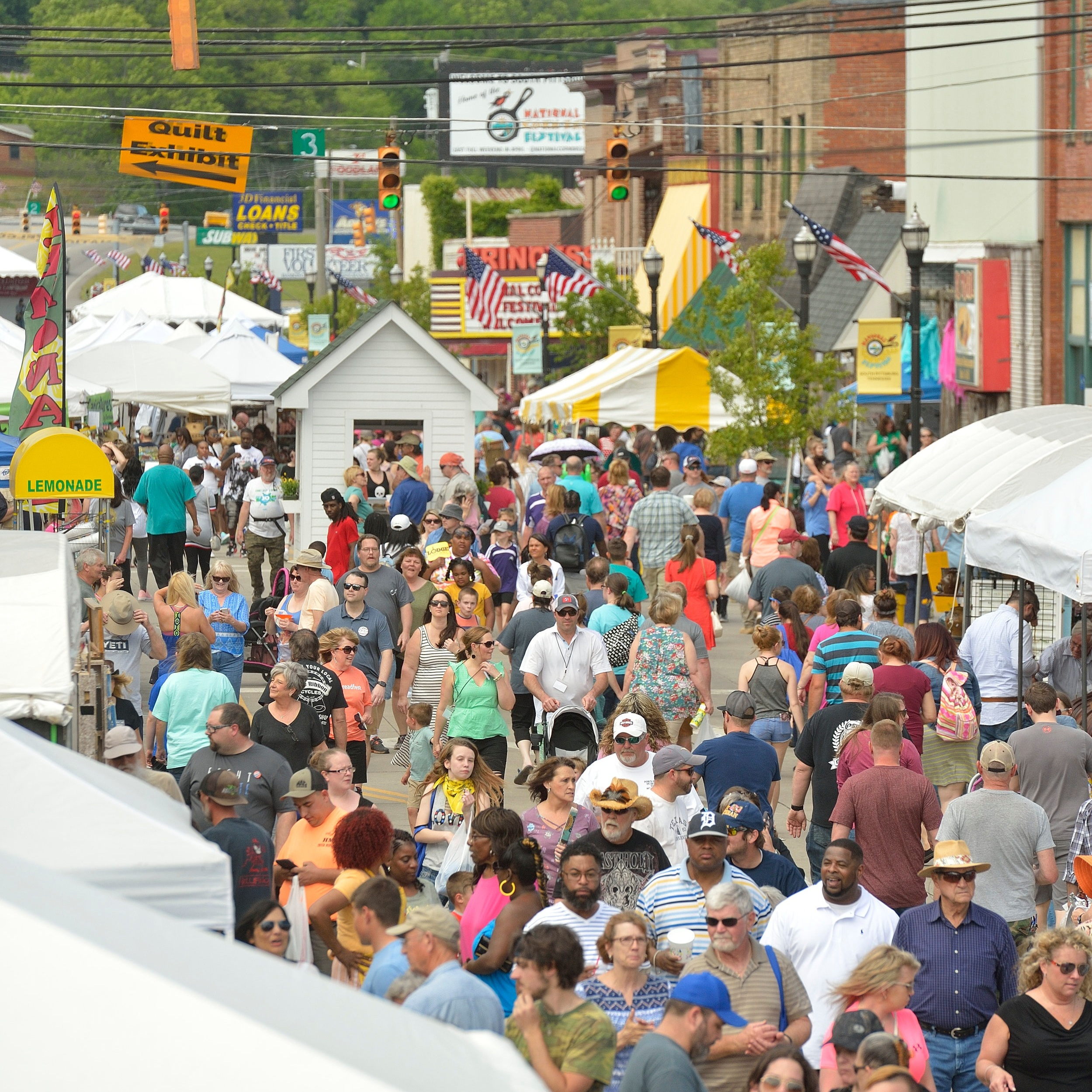 Cornbread Festival - Photo by Will Kirk