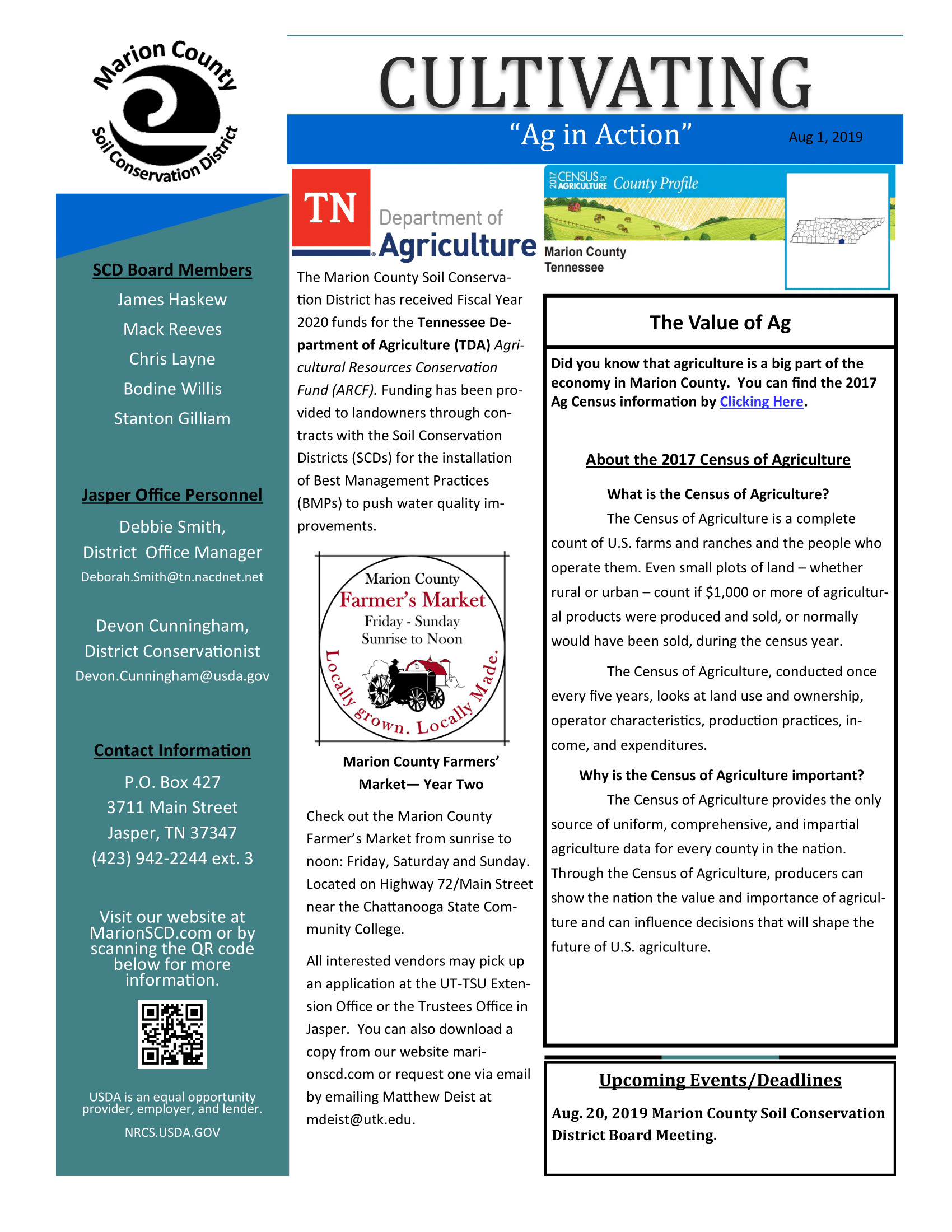 Soil Newsletter