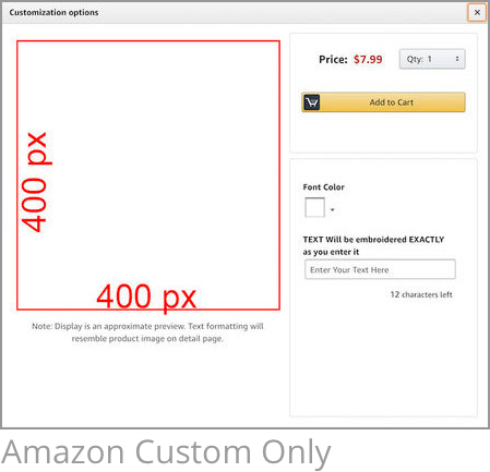 Amazon Image Size Requirements For Amazon Custom