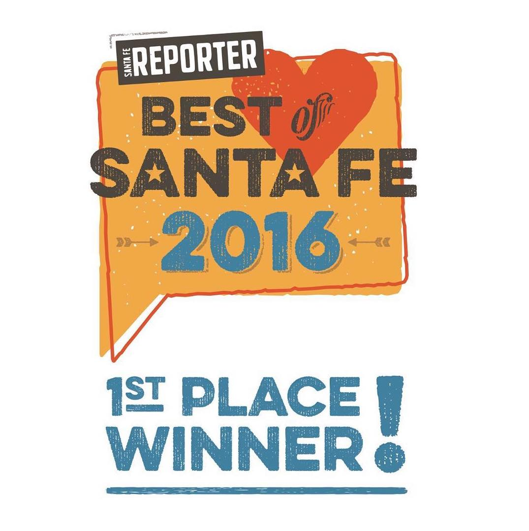 @SimplySantaFeNM Voted First Place Best of Santa Fe 2016