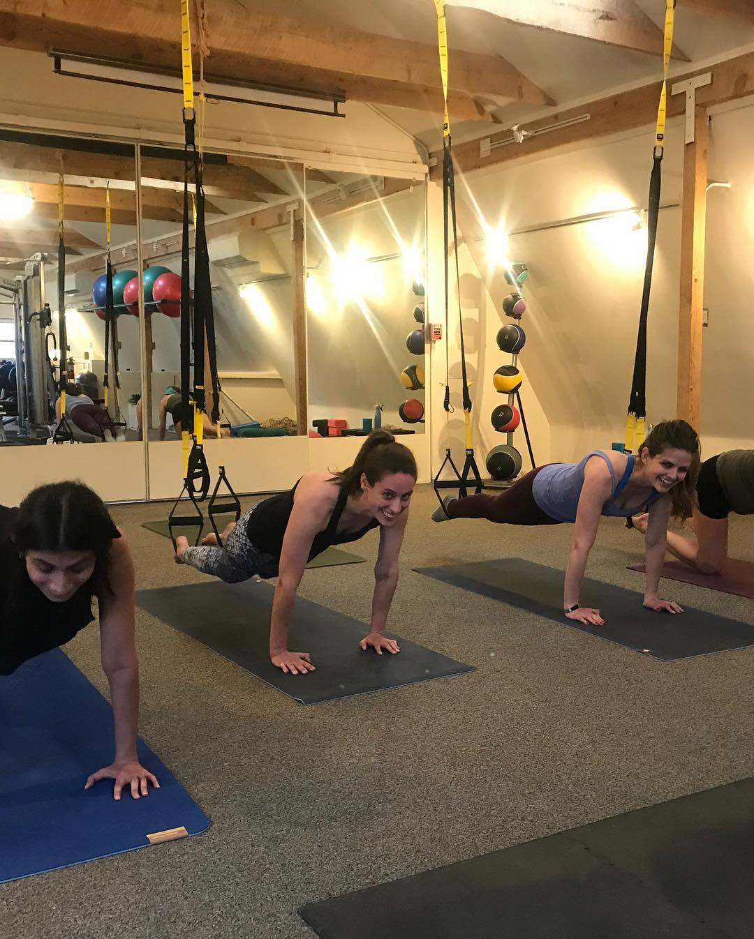 TRX Suspension Pilates