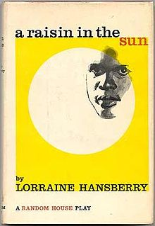 A Raisin in the Sun. Front cover of the first edition