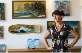 Kate Enoka in her Brightside Gallery