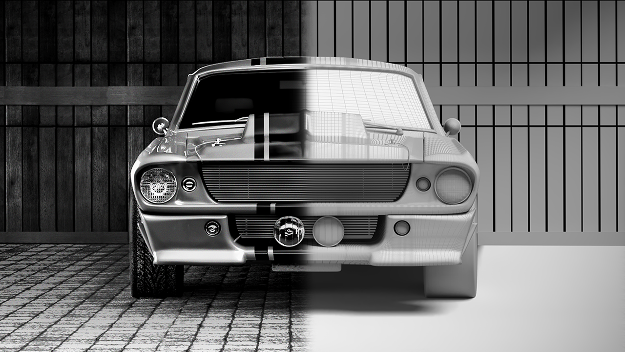 1967 Shelby Mustang Eleanor GT 500