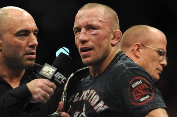 UFC 167 - GSP retires