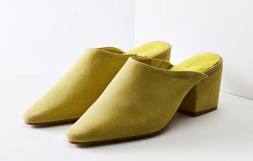 Urban Outfitters Becky Suede Pointy Toe Mule