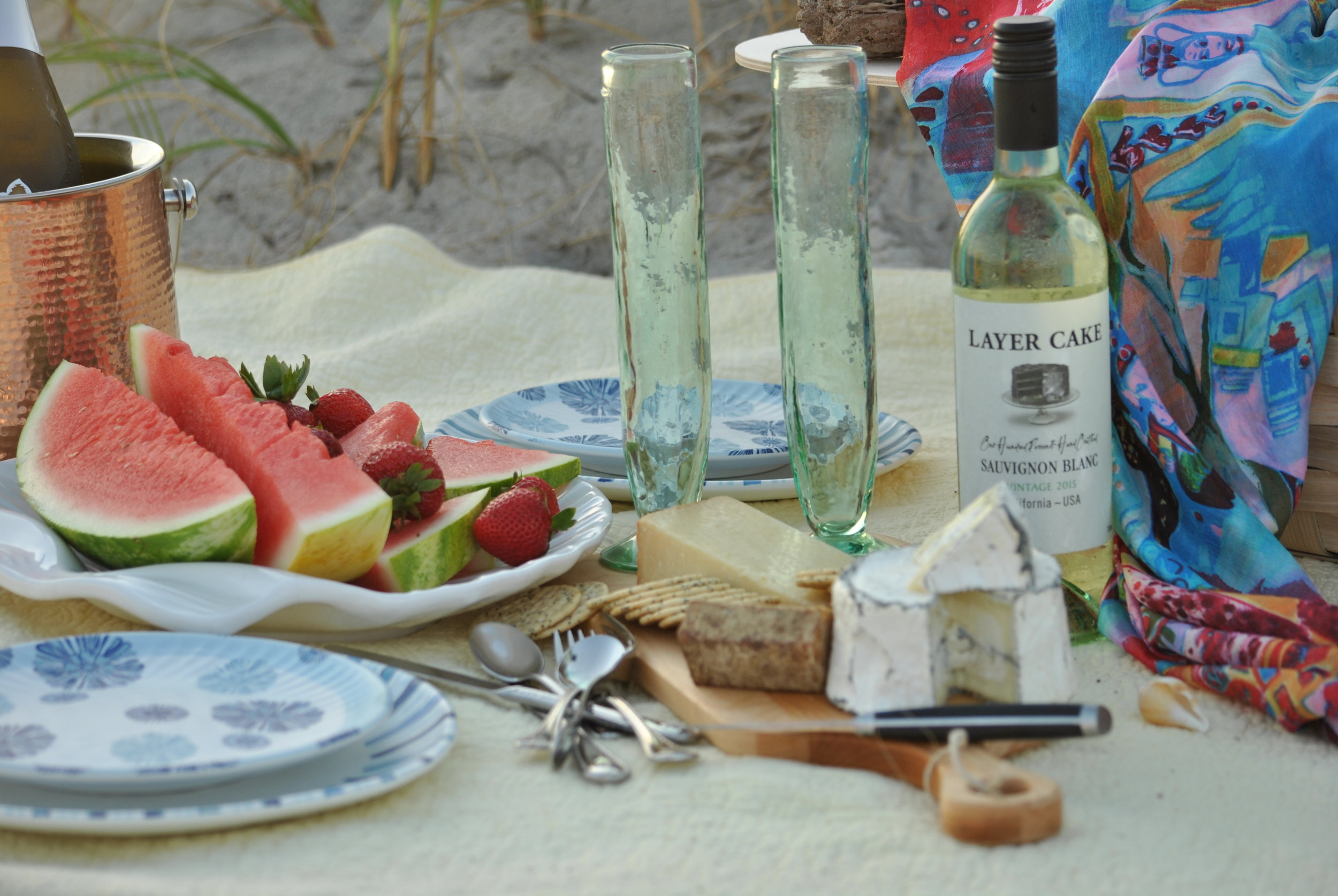 Beach Picnic at Bald Head Island