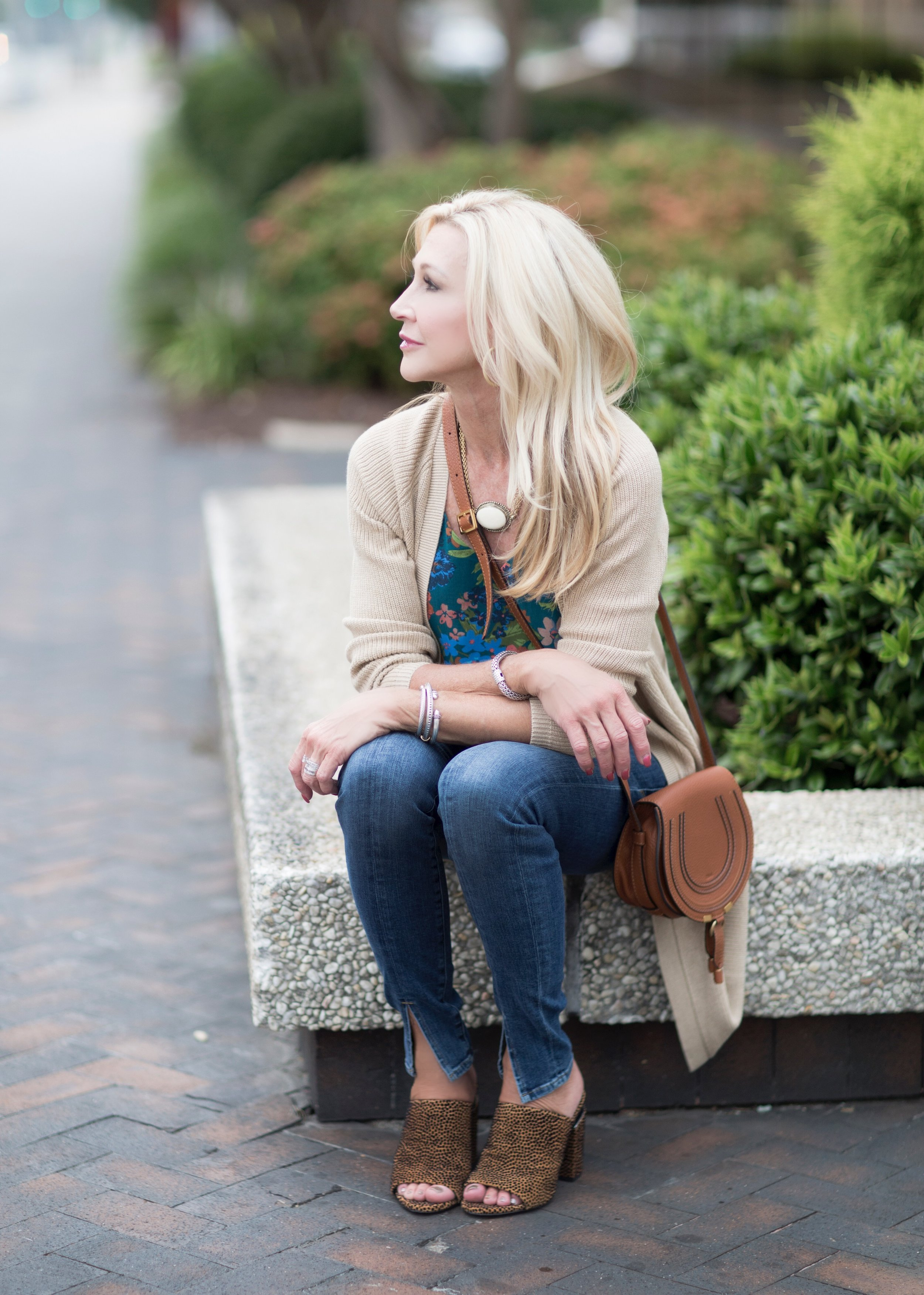 Cabi sweater and blouse
