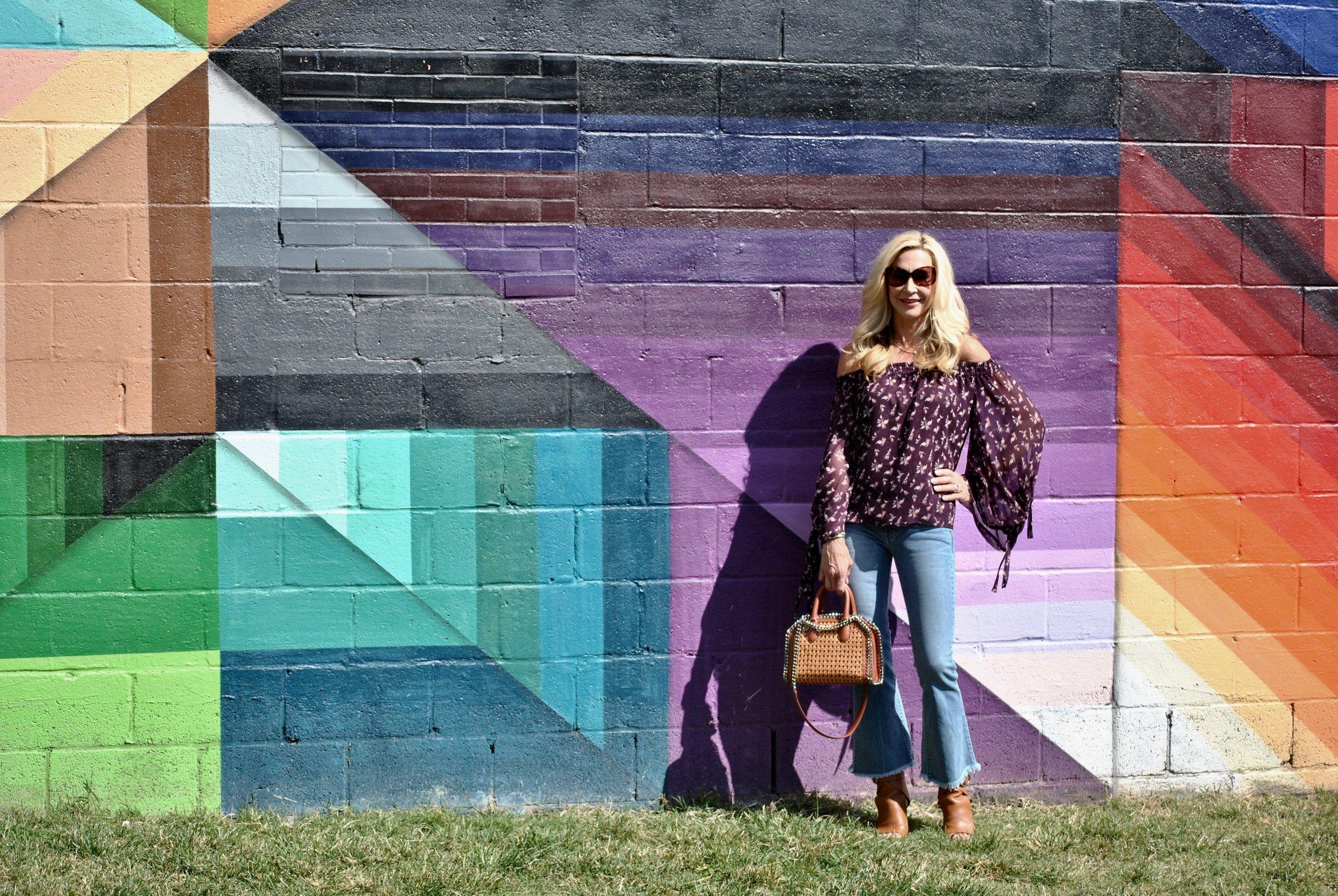 Mural in The Gulch Nashville