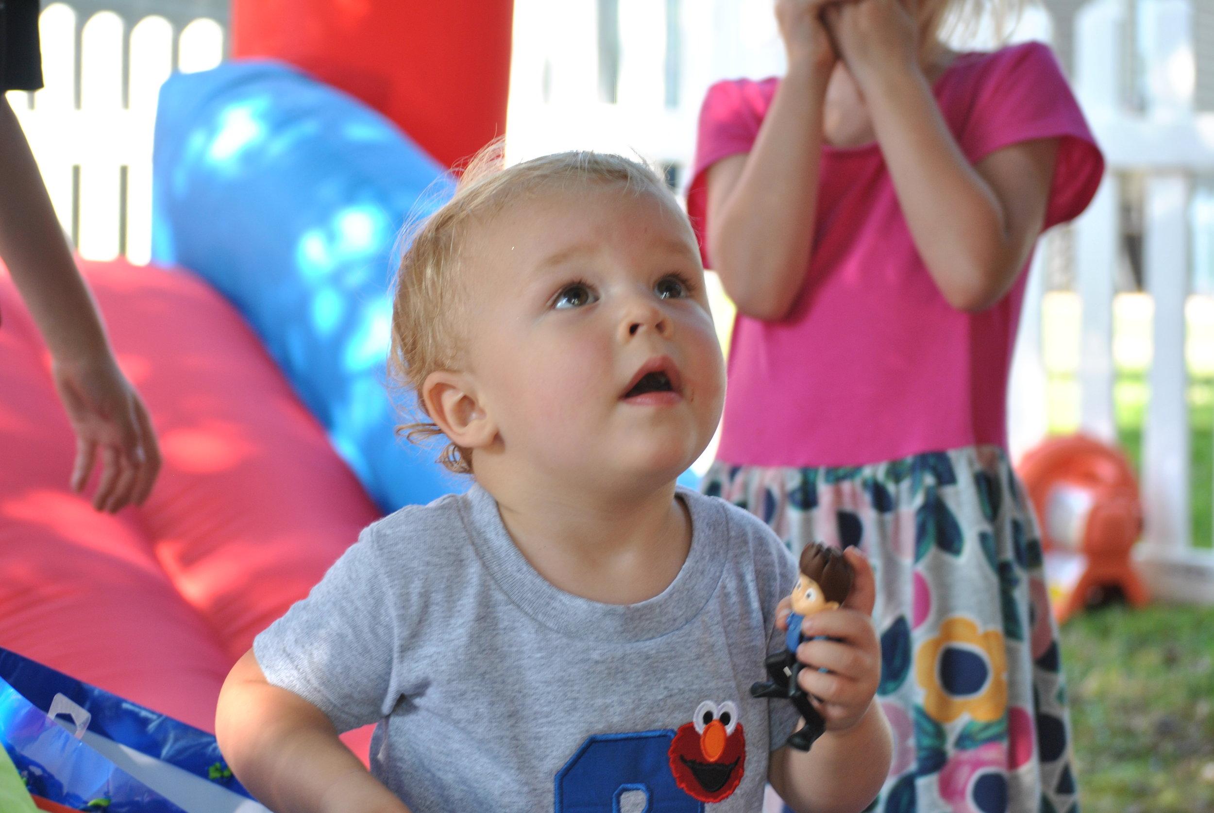 Hudson's Birthday party