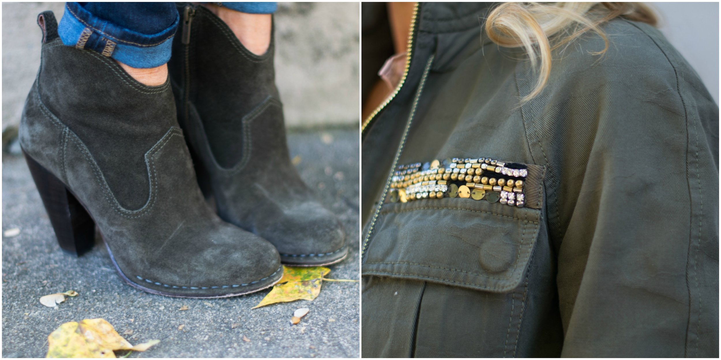 Frye Boots and Rebecca Taylor Jacket