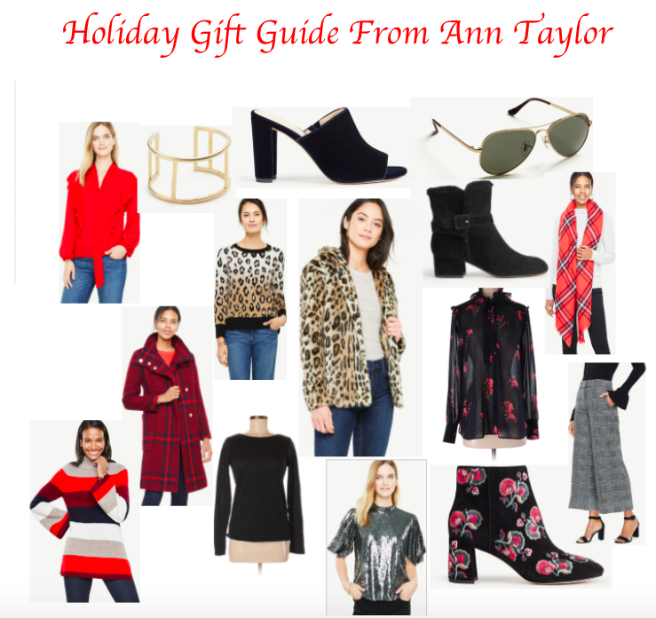 Holiday Gift Guide from Ann Taylor