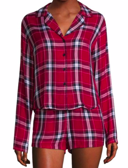 Rails Plaid Pajama Set - 158.00