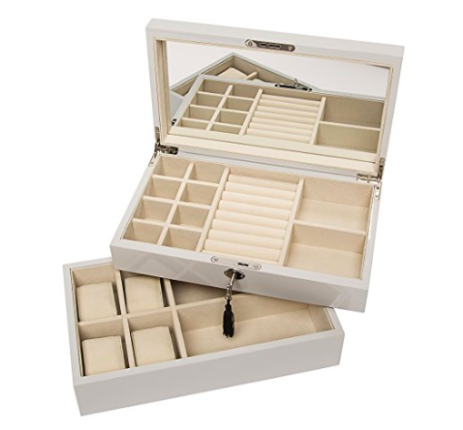 Oprah Recommended Stackable Jewelry Boxes - 80.00