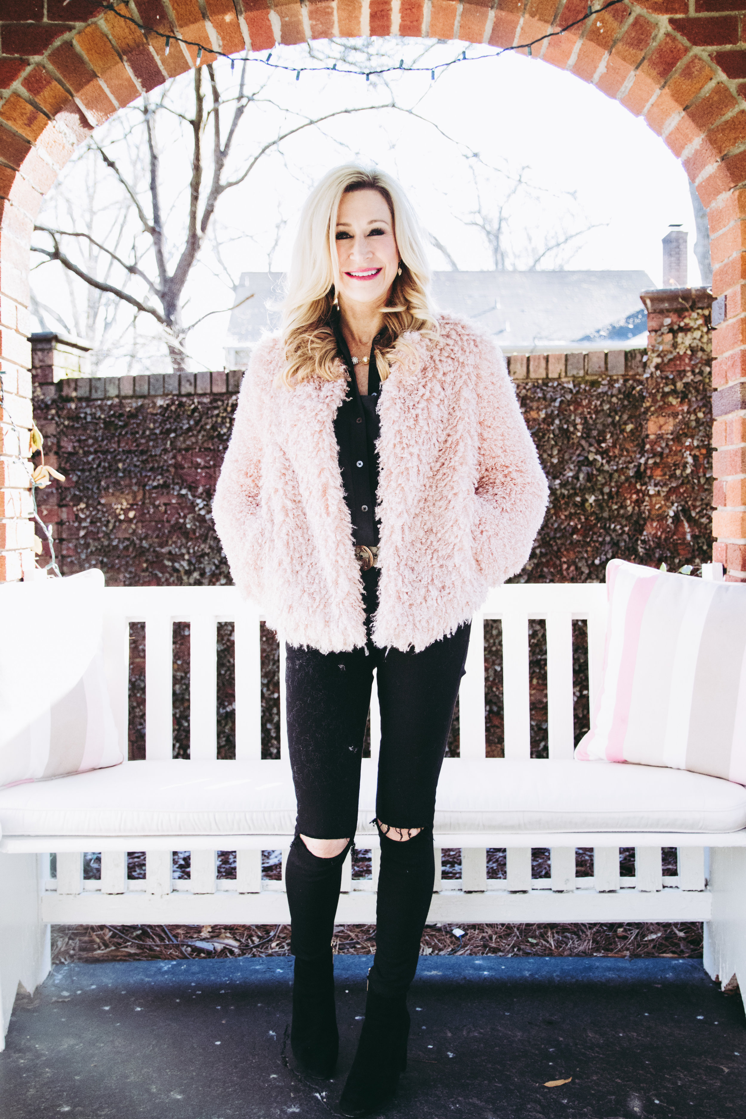 Valentine's Day Outfit - Willow & Clay Jacket