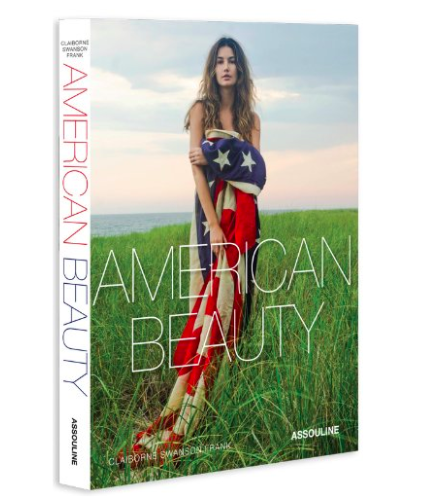American Beauty - American Beauty photographed by Claiborne Swanson Frank is a book that I've loved for a while.  It is a tribute to the women who symbolize our country today...even though it is several years old, it still speaks to me!  The photography is beautiful and I never tire of looking at.  It's a book that people will pick up and thumb through when they are visiting.