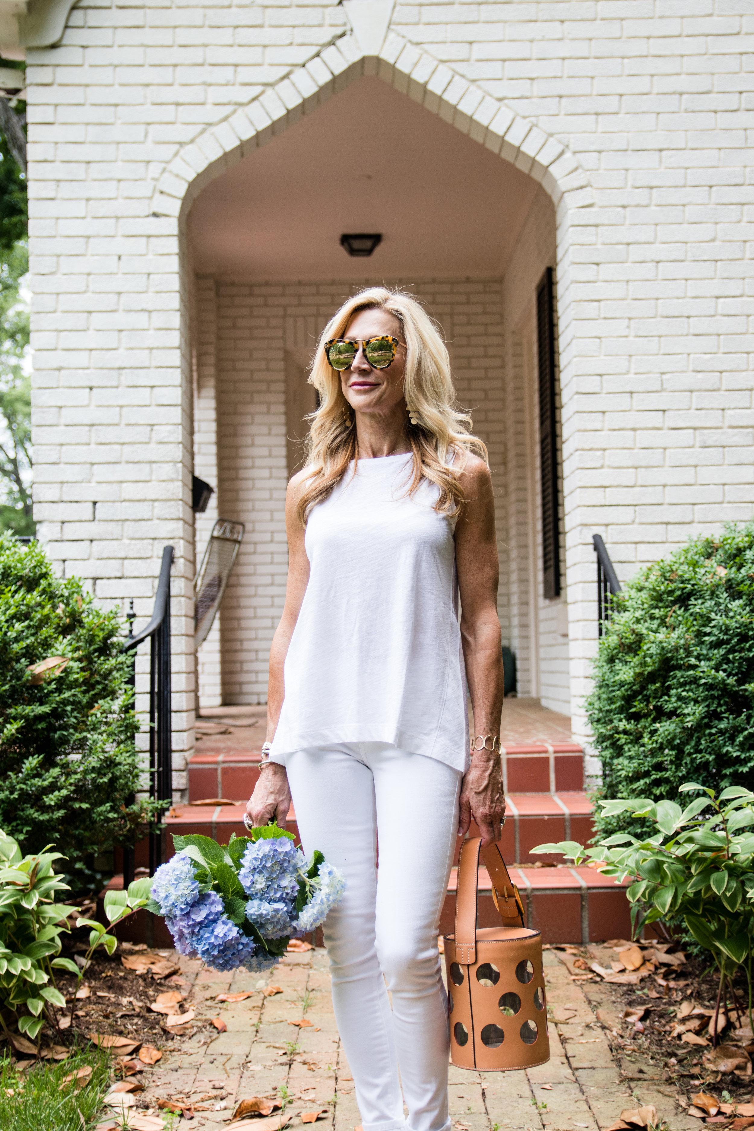 All white for summer!