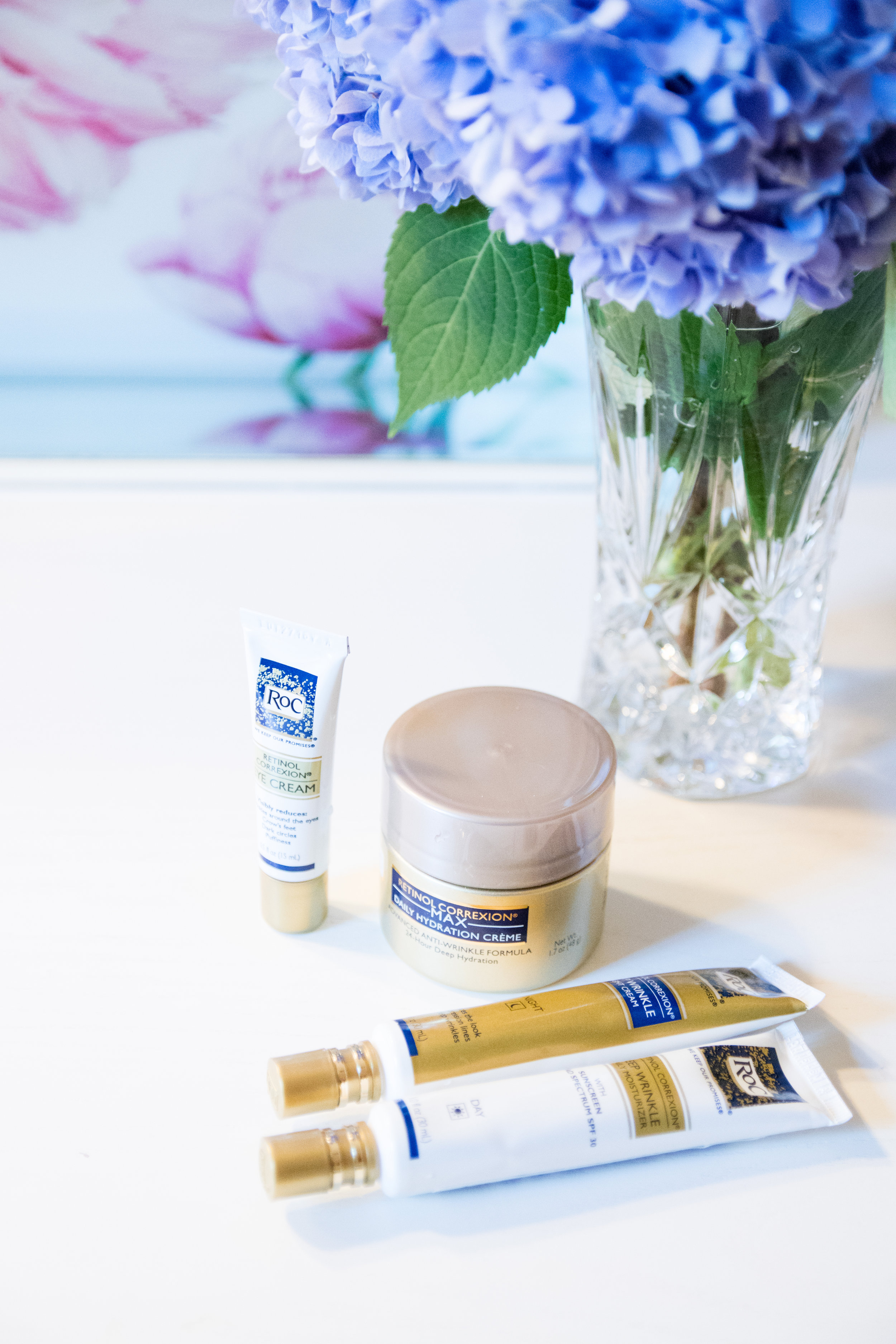 ROC Retinol Correction Products