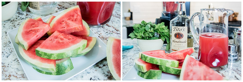 Watermelon Mint Spritzers