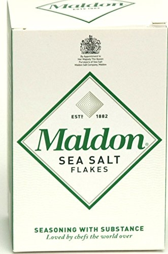 This is my favorite salt to sprinkle on everything from Tomatoes to Chocolate Chip Cookies - Maldon Sea Salt