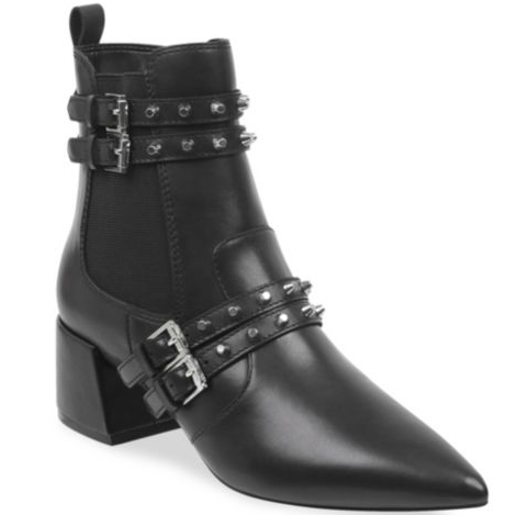 Kendall and Kylie Rad Studded Leather Bootie - 127.50 - On Sale! Shop Here