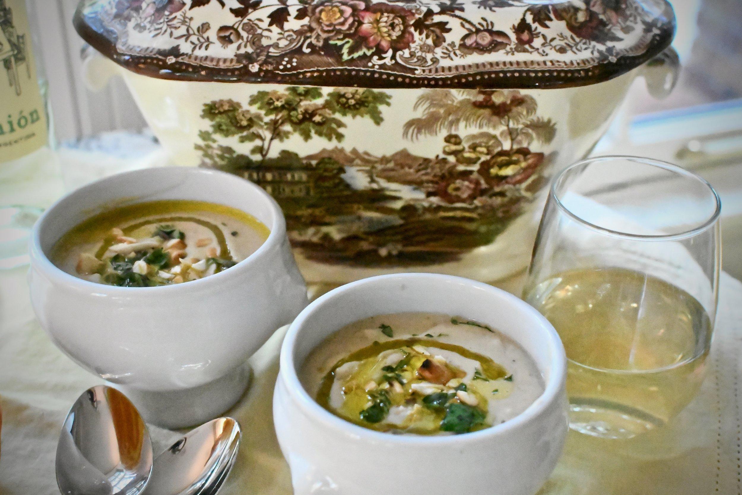 Roasted Cauliflower Soup - Crazy Blonde Life Style
