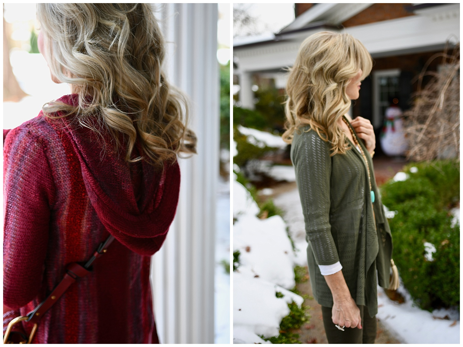 Dressbarn Sweater Styled for Winter