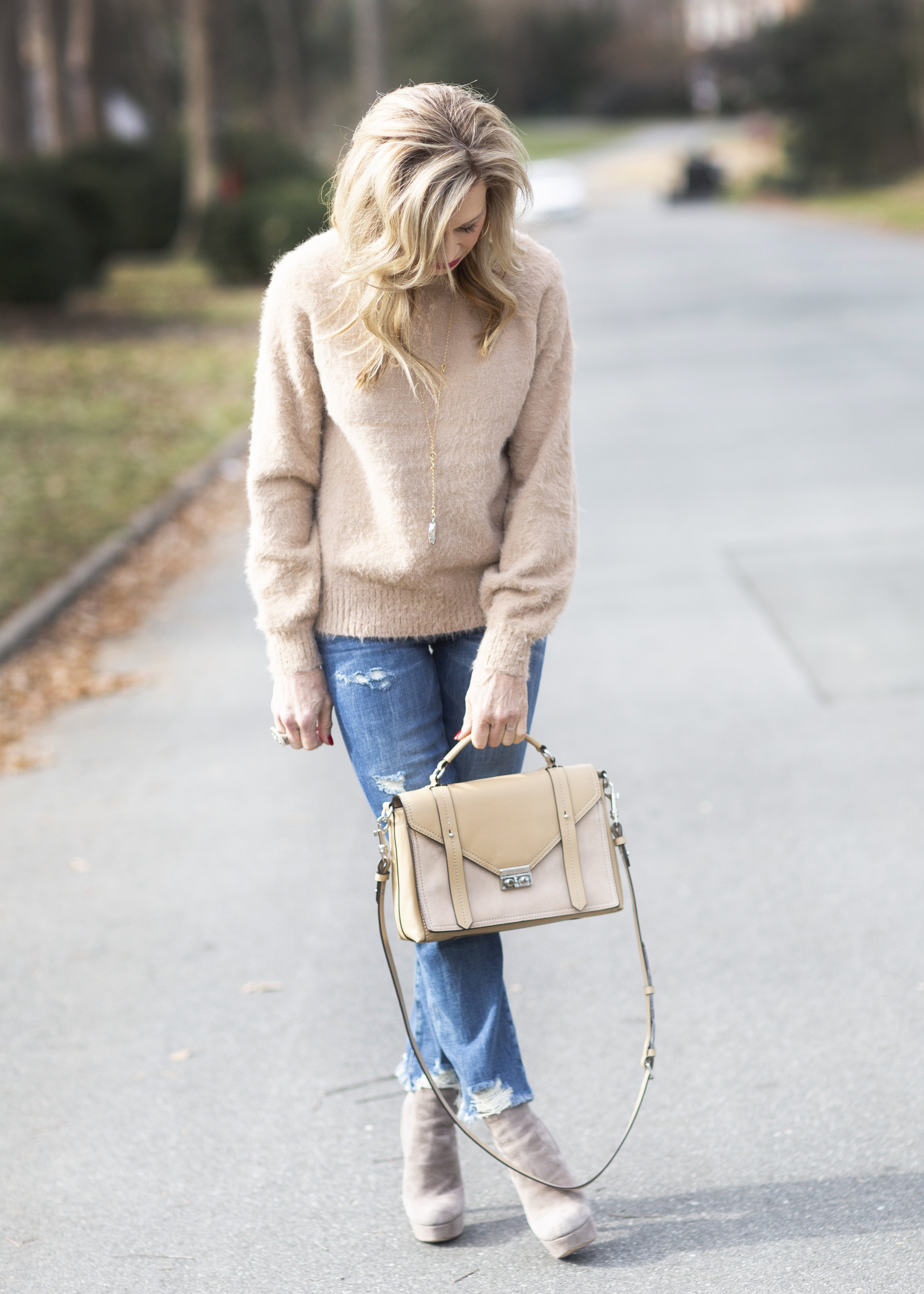 Winter Fashion - Crazy Blonde Style
