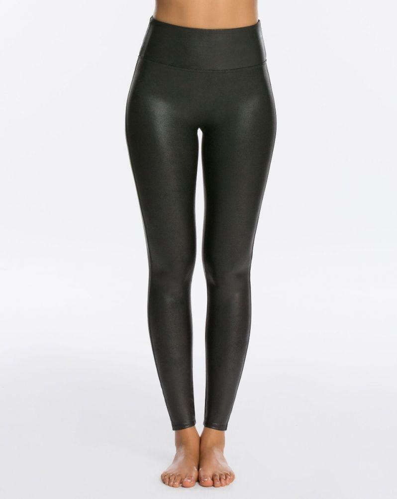 Spanx faux leather leggings - So versatile!