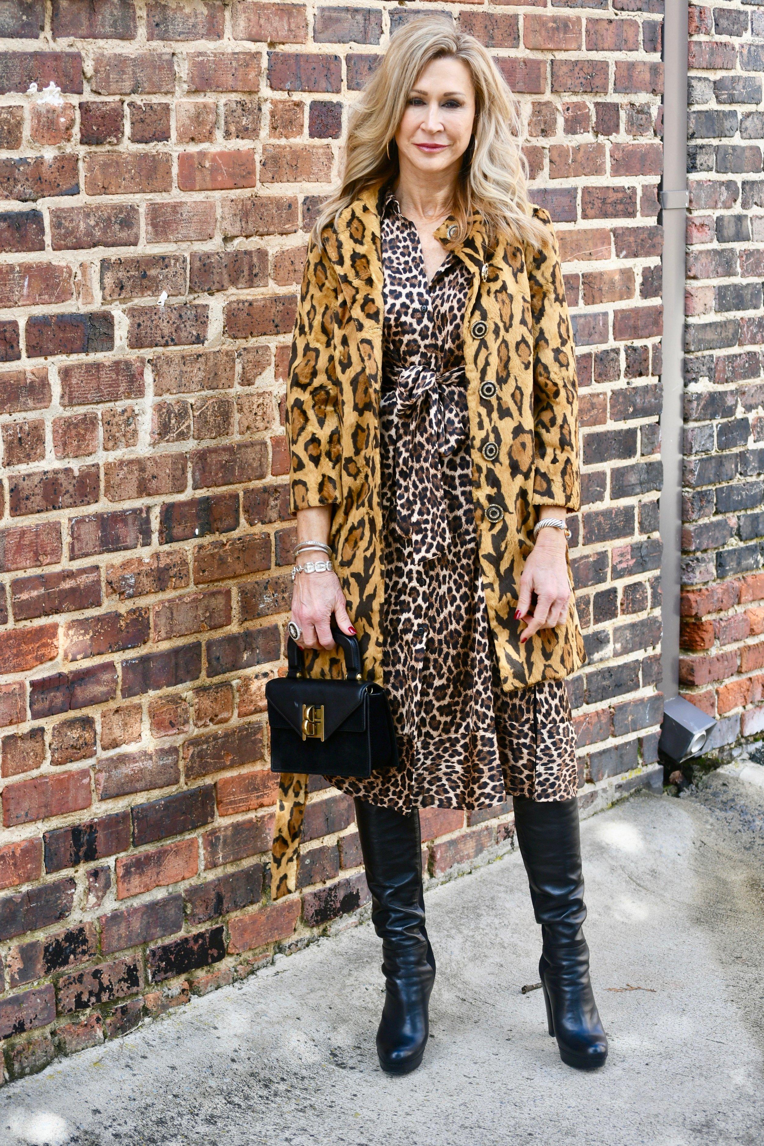 Lots of Leopard Print - Crazy Blonde Life