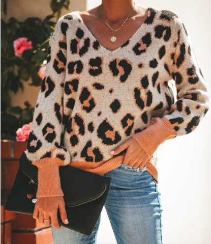 Leopard Sweater from Vici - $48.00