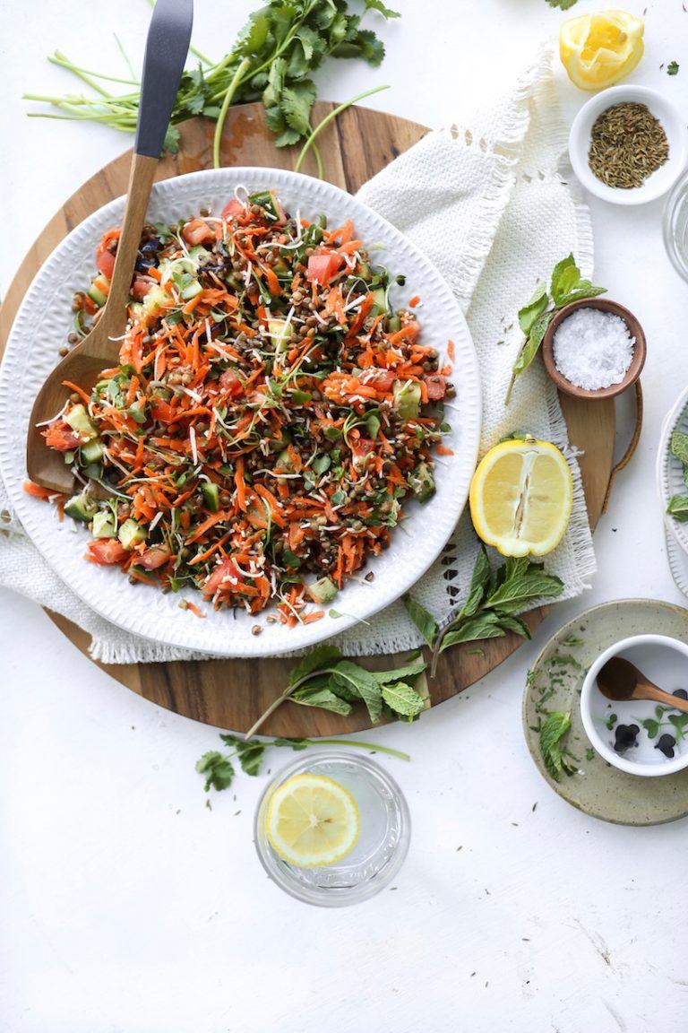 Spring Lentil Salad