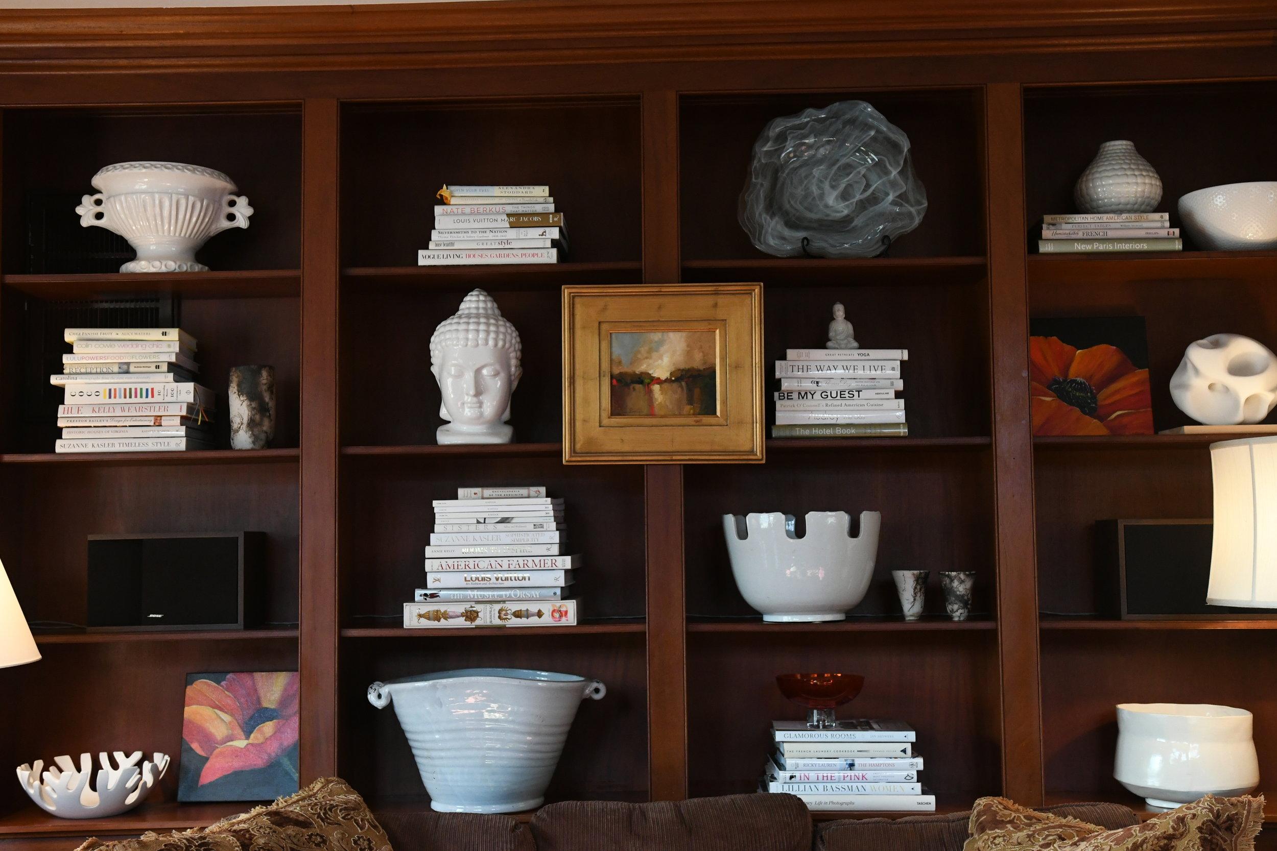 Bookshelves - Crazy Blonde Life