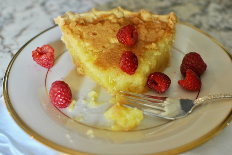 Buttermilk Pie - Crazy Blonde Life